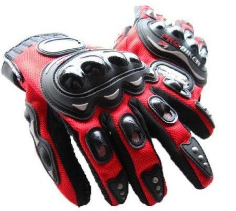 Probiker FBZ Riding Gloves (XXL, Red, Black)