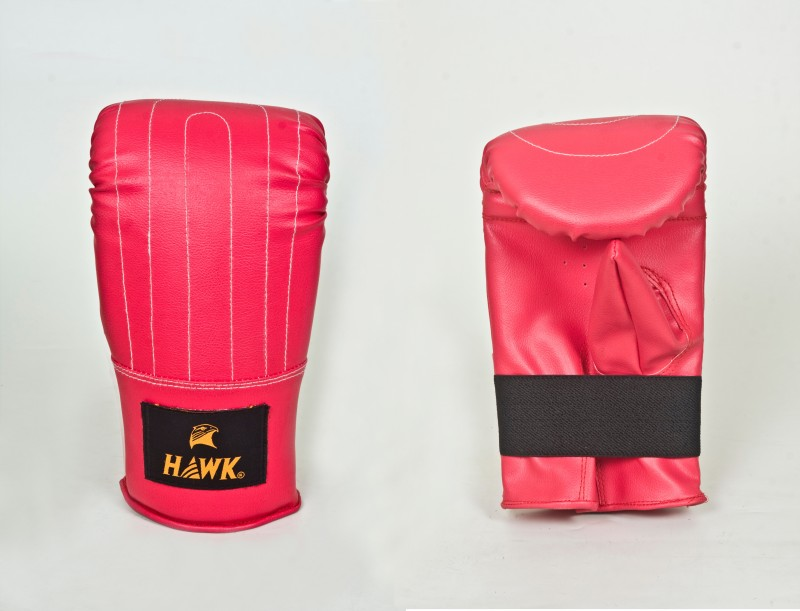 HAWK Punch Gym & Fitness Gloves (L, Red)