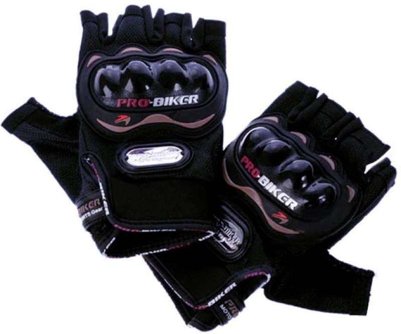 Probiker Half Cut for Bike Motorcycle Scooter Riding Gloves (L,...