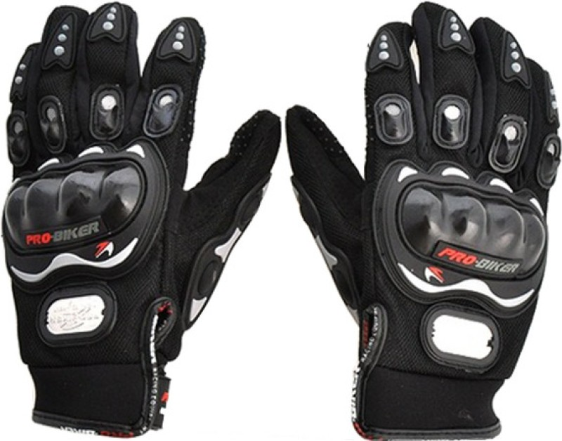 Probiker Racing, Riding, Biking Driving Gloves (XL, Black)