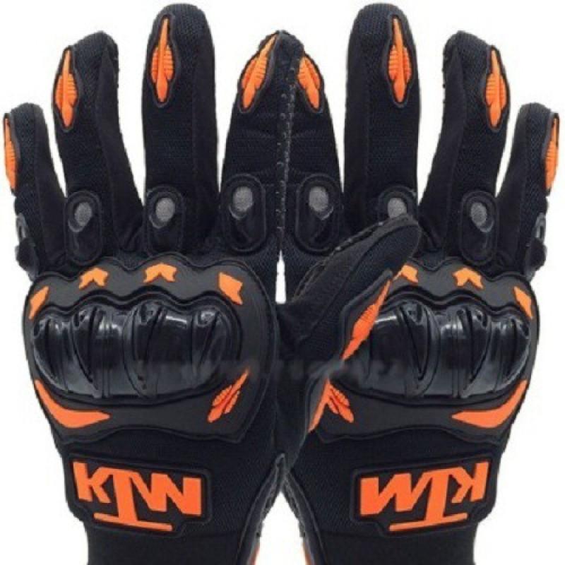Casttle KTM-MC08 Driving Gloves (M, Black, Orange)
