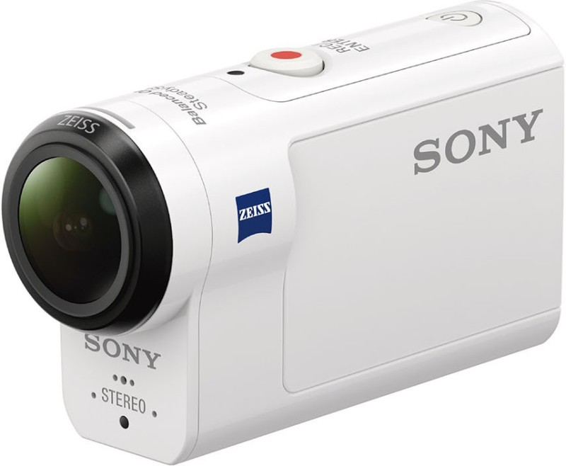 Sony HDR-AS300 Sports and Action Camera(White 8.2) HDR-AS300