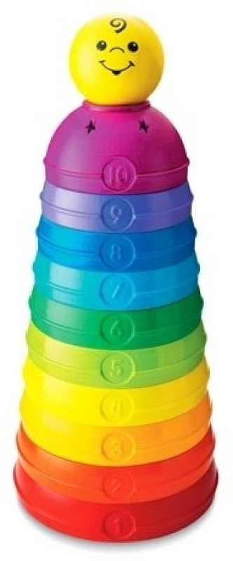 Fisher-Price Stack and Roll Cups