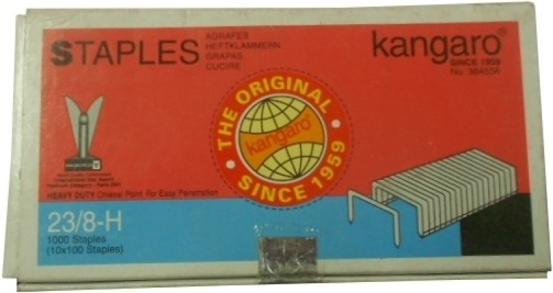 Kangaro 23 Series No. 23/8-H Stapler Pins(Set of 20)