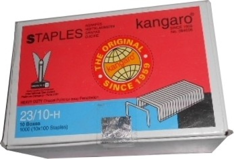 Kangaro 23 Series No. 23/10-H Stapler Pins(Set of 10)