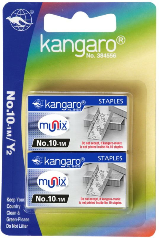 Kangaro Less Effort Manual Staplers(Set of 1, Assorted)