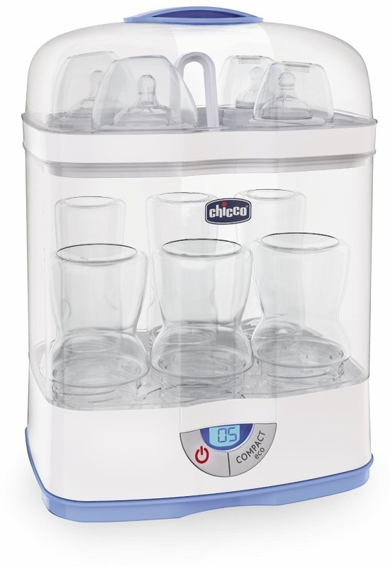 Chicco STERIL NATURAL 3IN1 STERLISER - 00007391000000 - 1 Slots(Multi Colour)