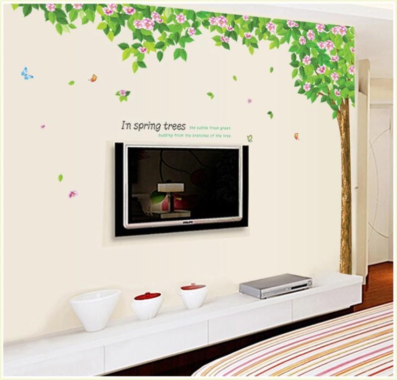 Oren Empower 2pc/Set (Double Sheet) Family Tree Wall Sticker(200 cm X cm 245, Multicolor)