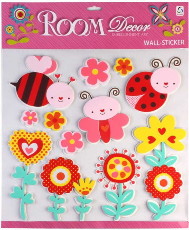 Sunboy Large Kids Room Wall Décor Stickers (Design-3) Sticker(Pack of 1)