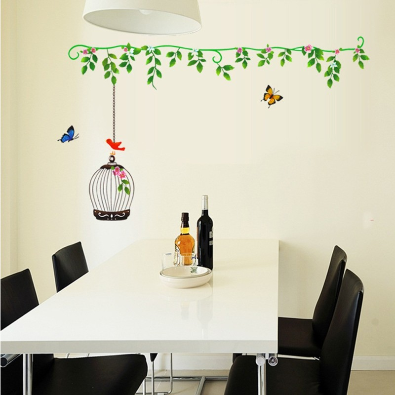 Cortina Large Wall Decals Sticker(Pack of 1)