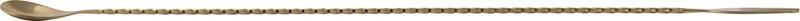 Bar X Steel 50 cm Stirrer(Gold Pack of 1)