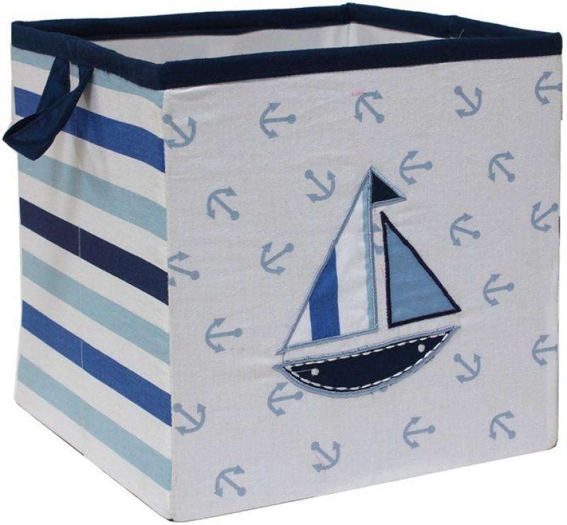 Bacati Little Sailor Small Storage Box(Multicolor)