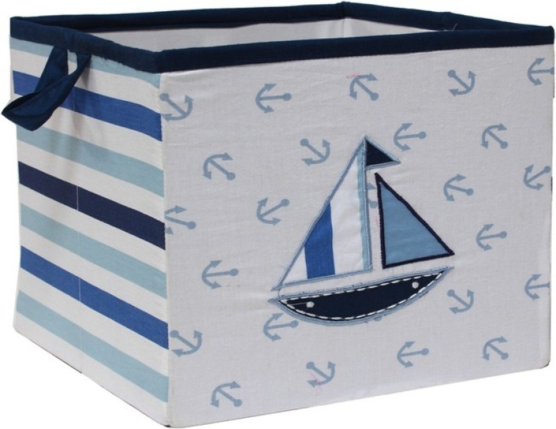 Bacati Little Sailor Large Storage Box(Multicolor)