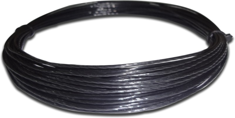 Discho Black Mamba Gear Twisted 1.27mm - Cut From Reel 1.27 Tennis String - 12 m(Black)