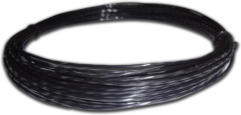 Discho Black Mamba Penta Twisted 1.28mm - Cut From Reel 1.28 Tennis String - 12 m(Black)