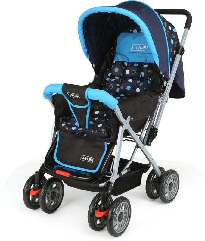 LuvLap SUNSHINE BABY STROLLER Stroller(Blue)