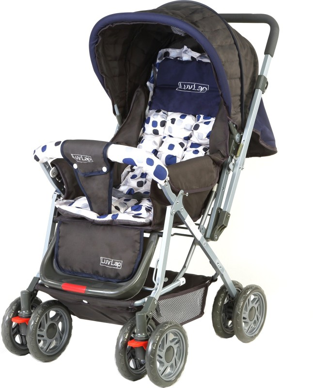 LuvLap Sunshine Baby Stroller Stroller(3, Navy Blue)
