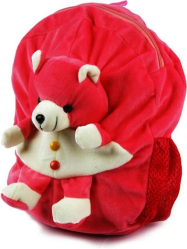 Vancouver Teddy School Bag(Pink, 2 inch)