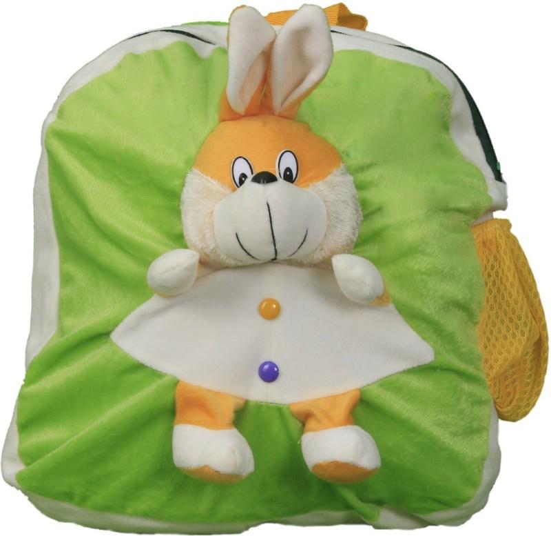 Vancouver Rabbit School Bag School Bag(Green, White, 14 inch)