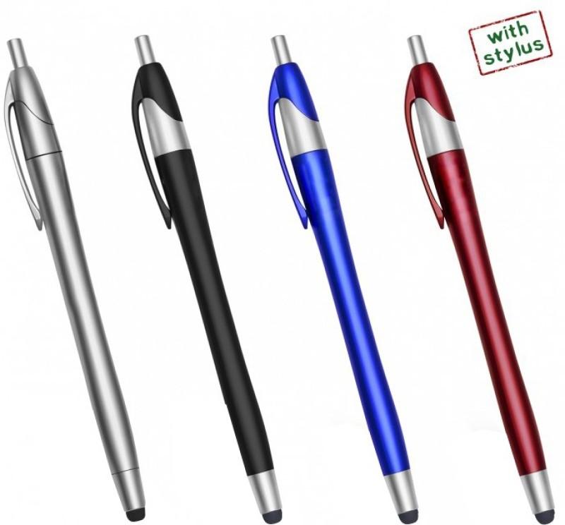PeepalComm Pen with Stylus Stylus(Multicolor)