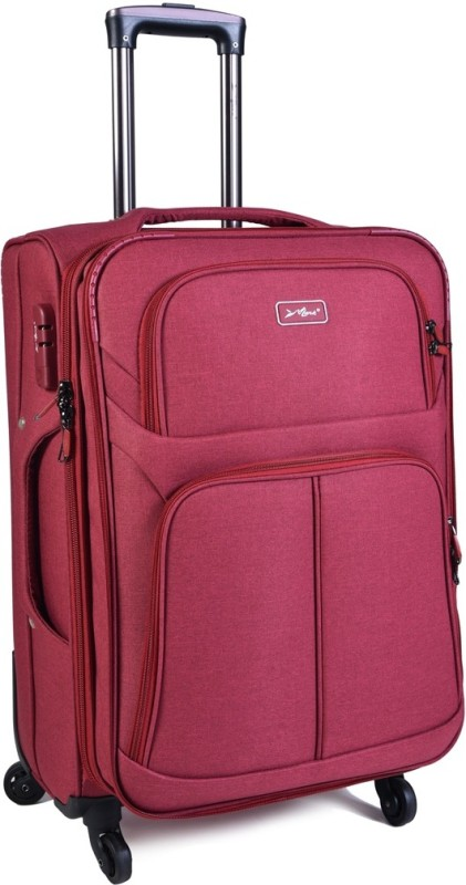 EUROLARK INTERNATIONAL Location Expandable Check-in Luggage - 25 inch(Red)