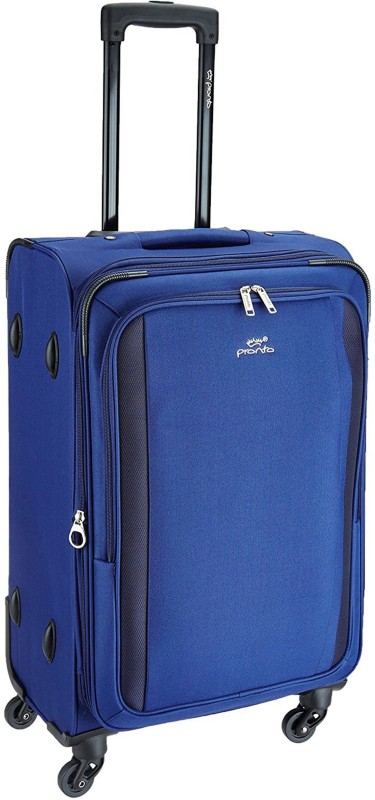 Pronto Rome Expandable Check-in Luggage - 28 inch(Blue)