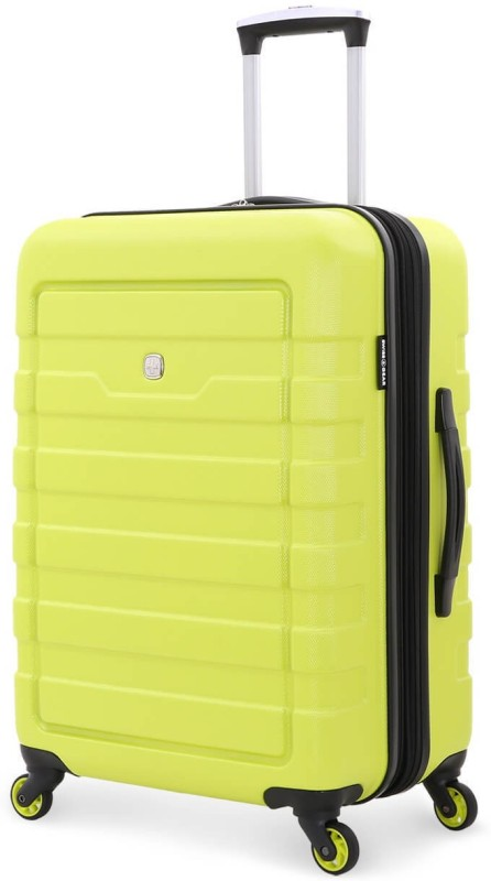 Swiss Gear 24 Spinner Expandable Check-in Luggage - 24 inch(Yellow)