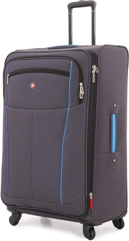 Swiss Gear 28 Spinner Expandable Check-in Luggage - 28 inch(Grey)