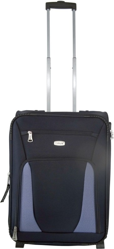 Timus Morocco Upright Expandable Cabin Luggage - 21 inch(Blue)