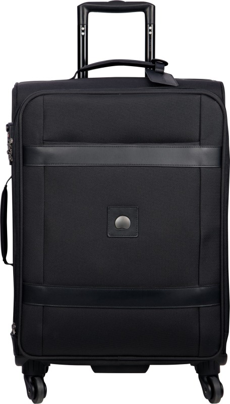 Delsey Monceau + Check-in Luggage - 25 inch(Black)