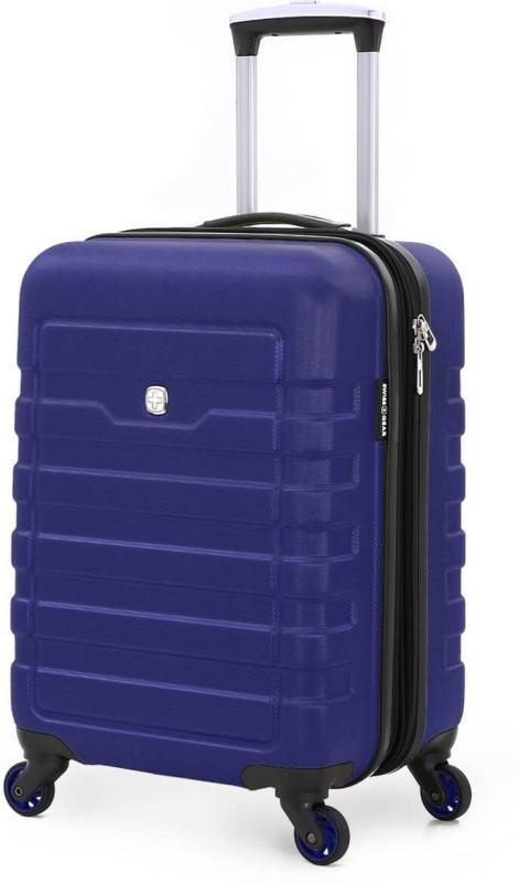 Swiss Gear 19 Spinner Blue Cabin Luggage - 19 inch(Blue)