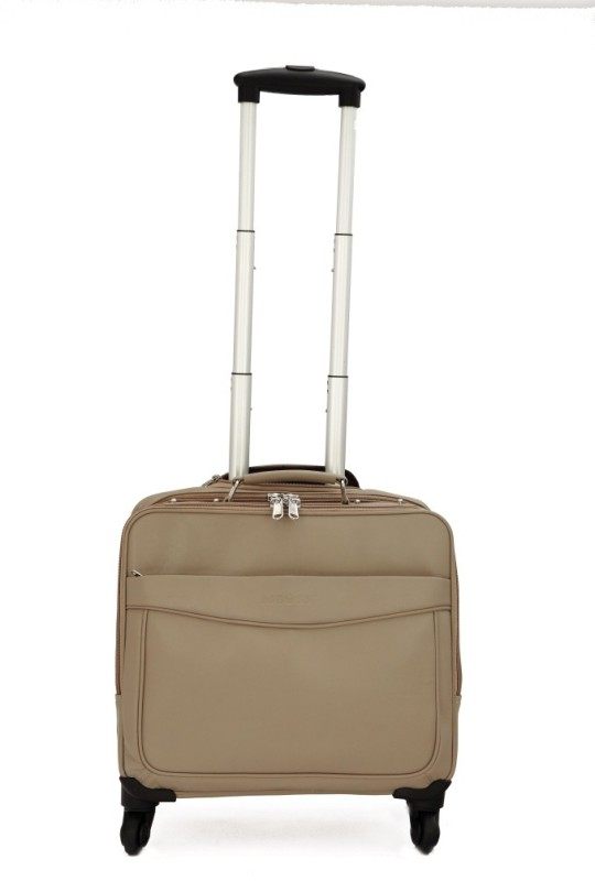 Mboss ONT_051_IVORY Cabin Luggage - 5.31 inch(Multicolor)