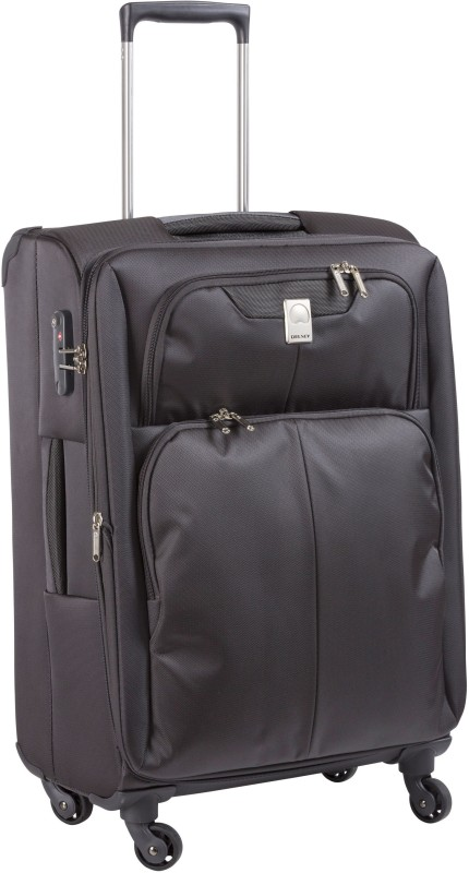 Delsey Expert Expandable Check-in Luggage - 23 inch(Grey)