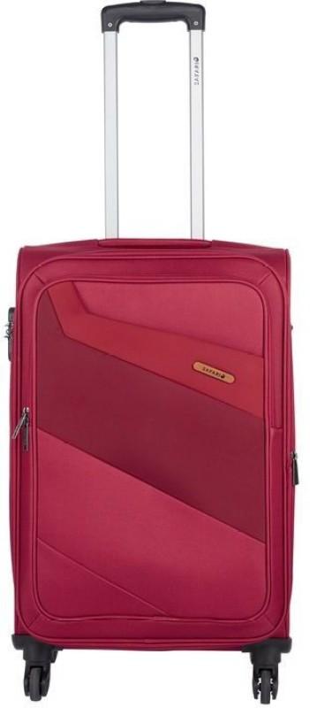 Safari Korrekt Expandable Cabin Luggage - 22 inch(Red)