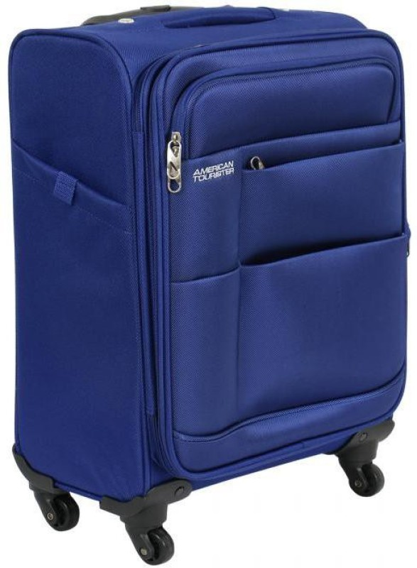 American Tourister Speed Expandable Cabin Luggage - 21 inch(Blue)
