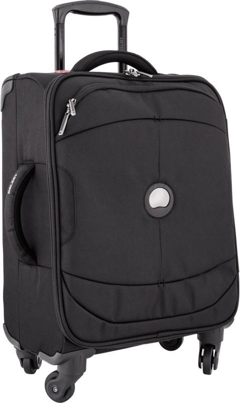 Delsey U-Lite Cabin Luggage - 18 inch(Black)