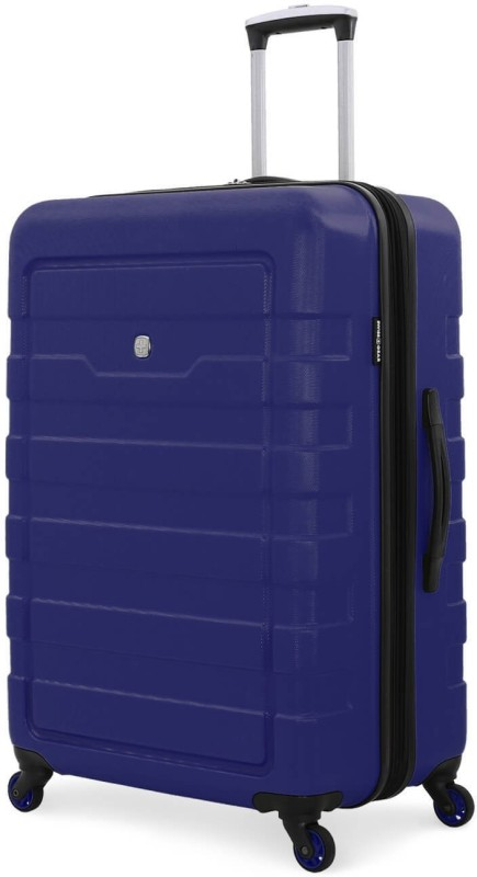 Swiss Gear 24 Spinner -Blue Expandable Cabin Luggage - 24 inch(Blue)