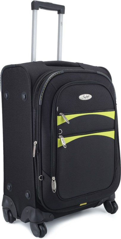 Skybags Nevada Expandable Cabin Luggage - 22 inch(Black)