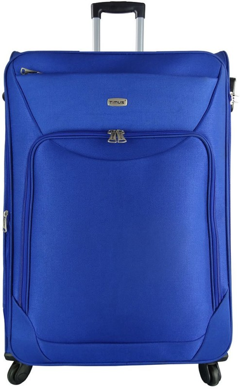 Timus Upbeat Expandable Check-in Luggage - 30 inch(Blue)