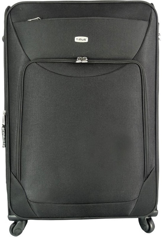 Timus Upbeat Expandable Check-in Luggage - 30 inch(Black)