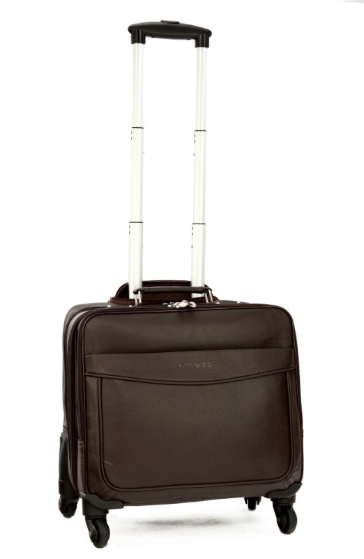 Mboss ONT_051_BROWN Cabin Luggage - 5.31 inch(Brown)