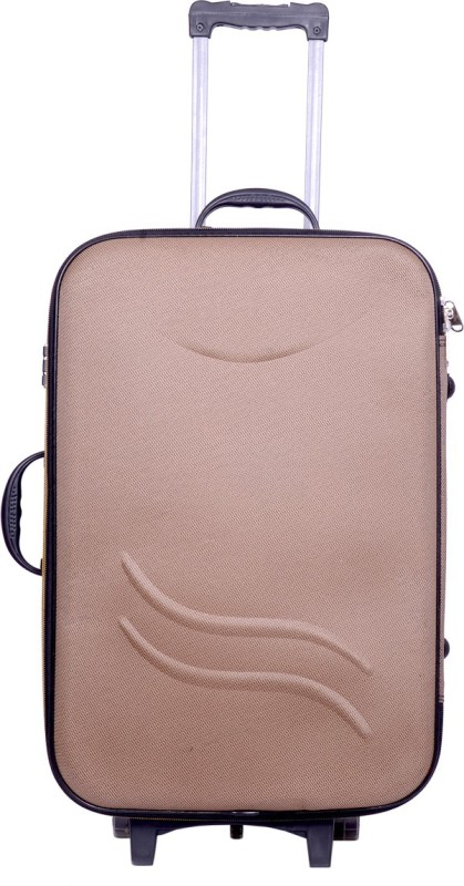Sk Bags Hkg Klik 24 inch strolly Check-in Luggage - 24 inch(Brown)