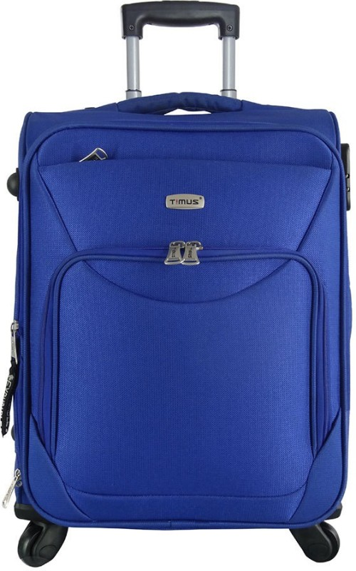 Timus Upbeat Expandable Cabin Luggage - 21 inch(Blue)