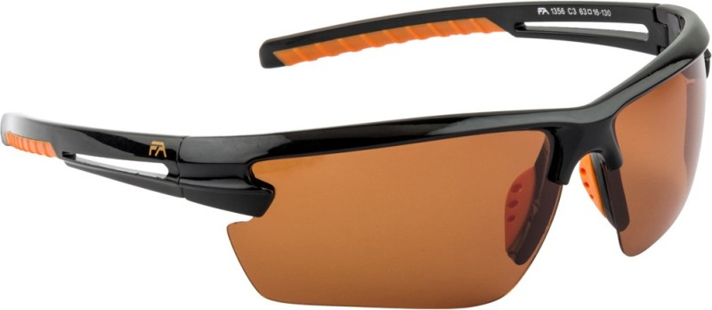 Farenheit Sports Sunglasses(Orange) image