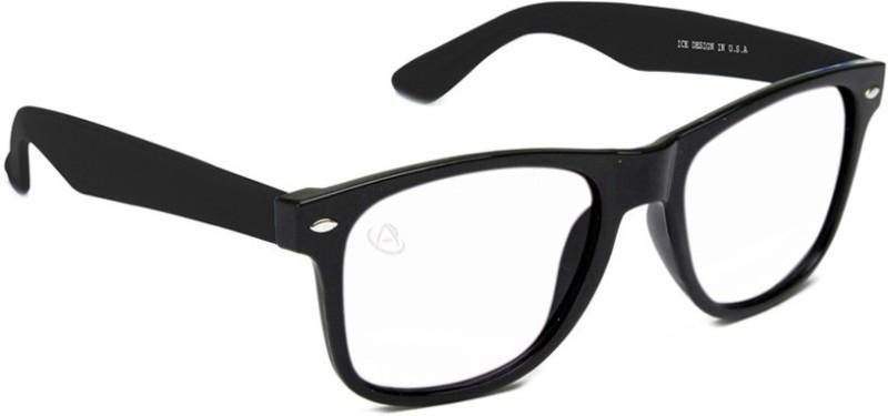 Aventus Wayfarer Sunglasses(Clear)