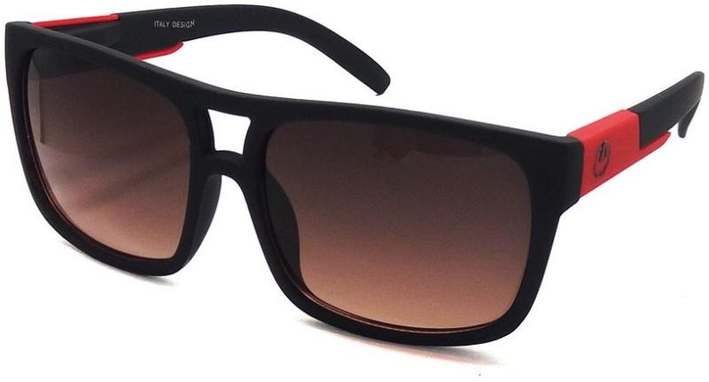 Aventus Wayfarer Sunglasses(Red)