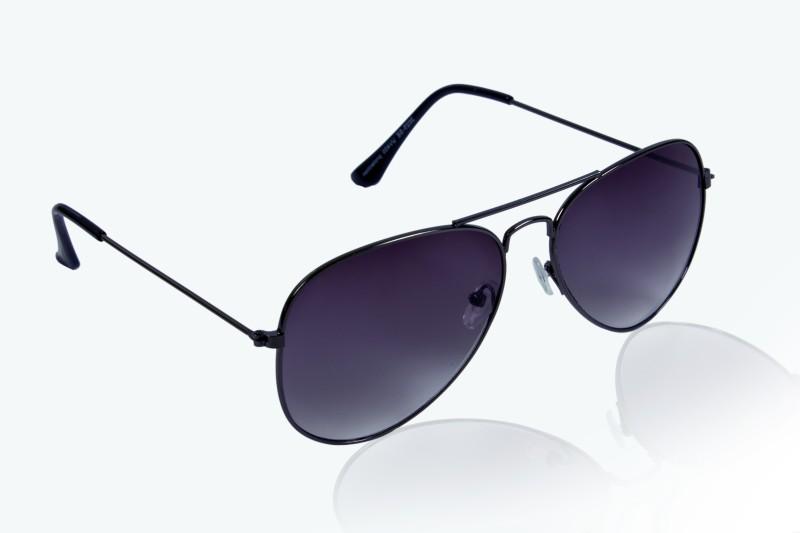 Glitters Aviator Sunglasses(Grey) image