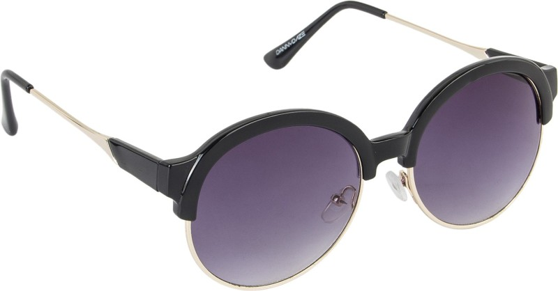 Danny Daze Round Sunglasses(Violet) image