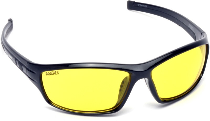MTV Roadies Sports Sunglasses(Yellow)