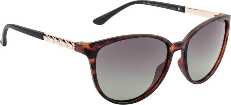 Farenheit Cat-eye Sunglasses(Green) image